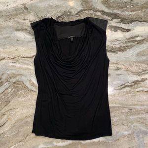 Express Black sleeveless blouse